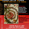 Mosaic art conference in Houston at University of St. Thomas