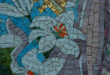 Mosaic at  St. Peter's Italian Catholic  Church in Los Angeles , California